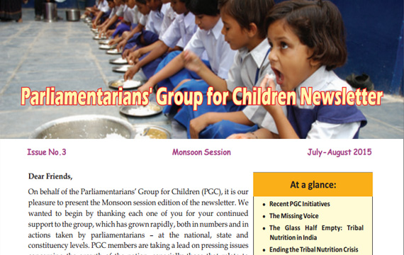PGC Newsletter, Issue No. 3, Monsoon Session, 2015