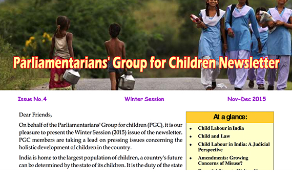 PGC Newsletter, Issue No.4, Winter Session, 2015